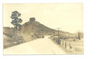 1918-1930 AZO Unknown Location Real Photo Postcard