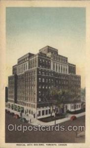 Medical Arts Building, Canada Hospital, Hospitals Postcard Postcards  Medical...