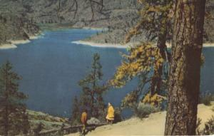 Omak Lake Washington WA Soap Lakes Union Oil Co. 76 Gasoline Postcard D30