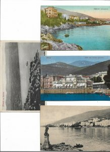 Croatia Abbazia Opatija Postcard Lot of 8  01.15