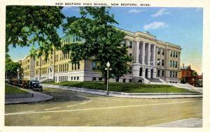 MA - New Bedford. New Bedford High School