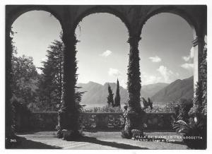 RPPC Villa Balbianello La loggetta Lenno Lago di Coma