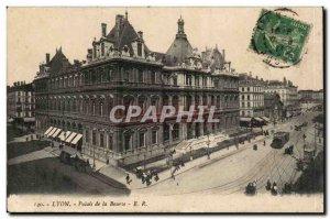 Postcard Old Lyon Stock Exchange Palace