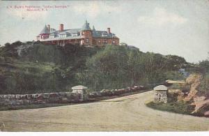 Rhode Island Newport J B Busks Residence Indian Springs