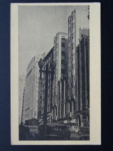 Australia NSW SYDNEY Hotel Australia & Prudential Insurance c1930 Postcard