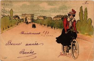 CPA PARIS 16e-Bonne Année (326221)