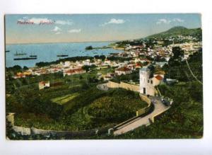 171928 PORTUGAL MADEIRA Funchal view Vintage postcard