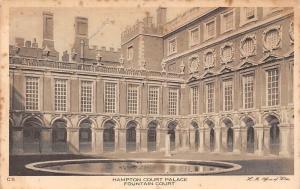 Hampton Court Palace, Fountain Court Palais
