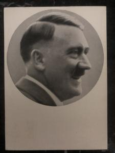 1938 Plaw Sudetenland Germany Real Picture Postcard RPPC cover Hitler Portrait