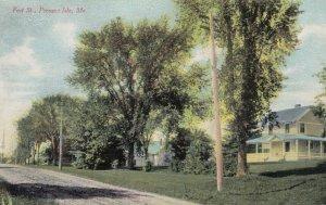 PRESQUE ISLE , Maine , 1900-10s ; Fort Street