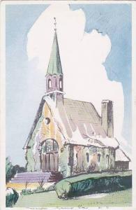 Sketch of church, 10-20s
