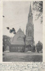NASHUA, New Hampshire , 1906 ;  Pilgrim Church