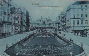 Belgium Oostende Le Kursaal et l'Avenue Leopold 1910