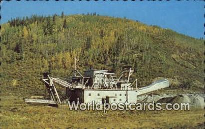 Yukon Canada, du Canada Gold Dredge, Dawson City Yukon Gold Dredge, Dawson City