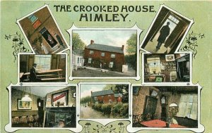 C-1910 Himley Staffordshire UK Price & Sons Postcard Multi View 20-727