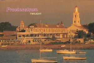 Massachusetts Cape Cod Provincetown At Twilight
