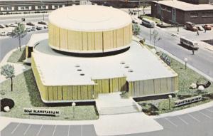 Dow Planetarium, Montreal, Quebec, Canada, 40's-60's
