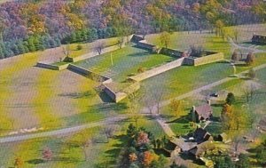 Aerial View Of Old Fort Frederick Now A Maryland State Park Hagerstown Maryland