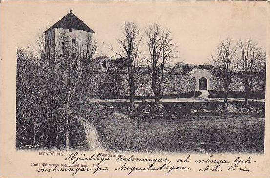 Slottsruinen, Nyköping, Sweden, PU-1903