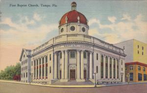 First Baptist Church , TAMPA , Florida , 30-40s