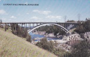 The Aluminum Bridge, Le Pont D'Aluminium, Ville de Jonquiere, Suguenay, Quebe...