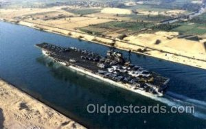 Suez Canal Transit   Military Aircraft Carrier Unused