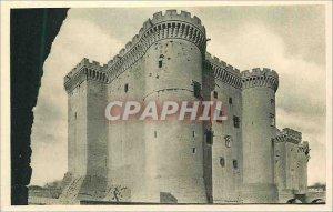 Old Postcard Chateau de Tarascon (B, R)
