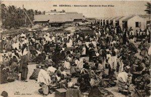 CPA AK Fortier 358 Saint Louis- Marche de Guet N'Dar SENEGAL (812182)
