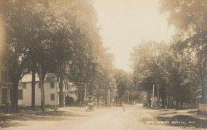 RP; WARNER , New Hampshire , 1900-10s ; Main Street