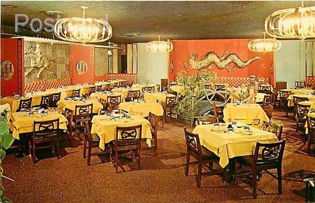 NY, Seaford, Long Island, New York, Jade East Restaurant and Lounge, Interior...