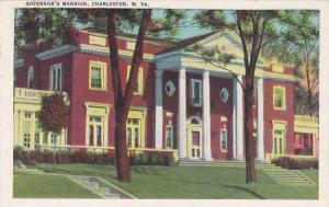 West Virginia Charteston Governors Mansion Artvue 1940