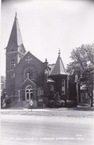 RP: GENESEO, Illinois, 1950s; St. Malachy's Church