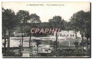 Old Postcard Bagnoles De L Orne Vue Generale du Lac