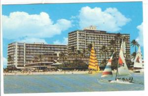 The Reef Hotel, Waikiki Beach, Hawaii, 1940-1960s