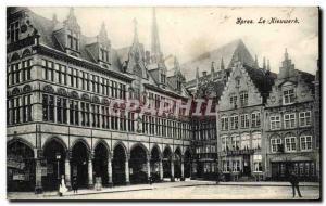 Old Postcard Ypres Nieuwerk