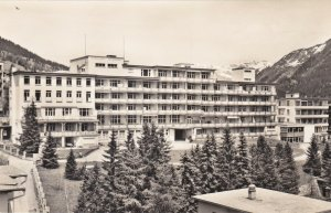 Switzerland Davos Sanatorium en Astmakliniek Eugenia Real Photo sk4201
