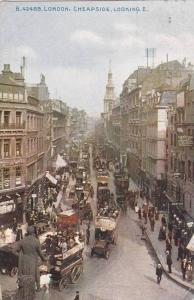 Cheapside, Looking East, London, England, UK, 1900-1910s