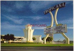 Continental-size TROPICANA HOTEL, The Strip - LAS VEGAS, NV. Rodney Dangerfield
