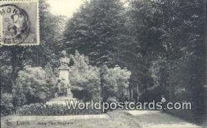 Lierre, Belgium, België, la Belgique, Belgien Statue tony Bergmann  Statue t...