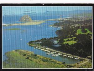 California Morro Bay Aerial View 1990