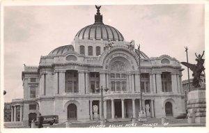 Palacio Bellas Artes Mexico Tarjeta Postal Real Photo, Unused