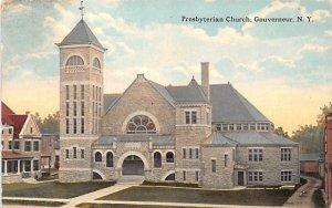 Presbyterian Church Gouverneur, New York Postcard