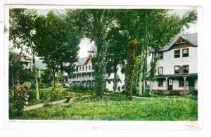 Sabbathday Point to Raquette Lake, New York 1907 PC, Hulett House, Lake George