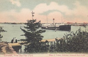 YARMOUTH , Nova Scotia , Canada , 00-10s ; Steamer in harbour