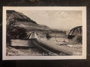 Mint USA RPPC Postcard John Day River Columbia River OR