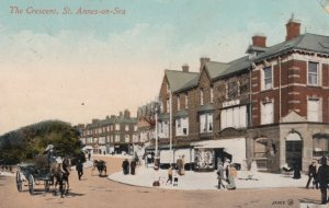 ST. ANNES-ON-SEA , Lancashire , PU-1914 ; The Crescent