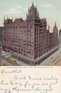 Broad Street Station, Philadelphia, Pennsylvania, PU-1906