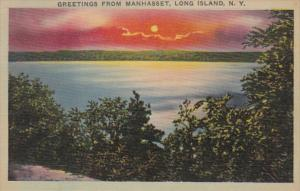 New York Long Island Greetings From Manhasset