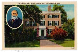 Home Jame Russell Lowell, Cambridge MA