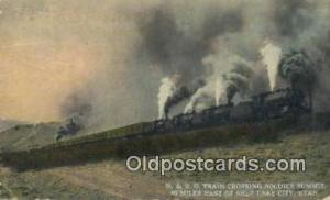 D And RG Train Crossing Soldier Summit, Salt Lake City, Utah, UT USA Trains, ...